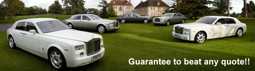 Wedding Car Hire - Phantom Fleet